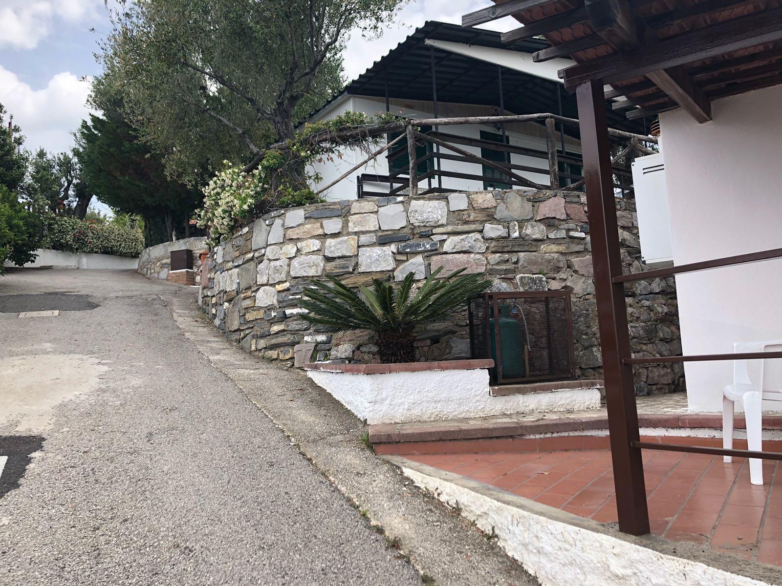 Scorcio del residence Punta Cilento