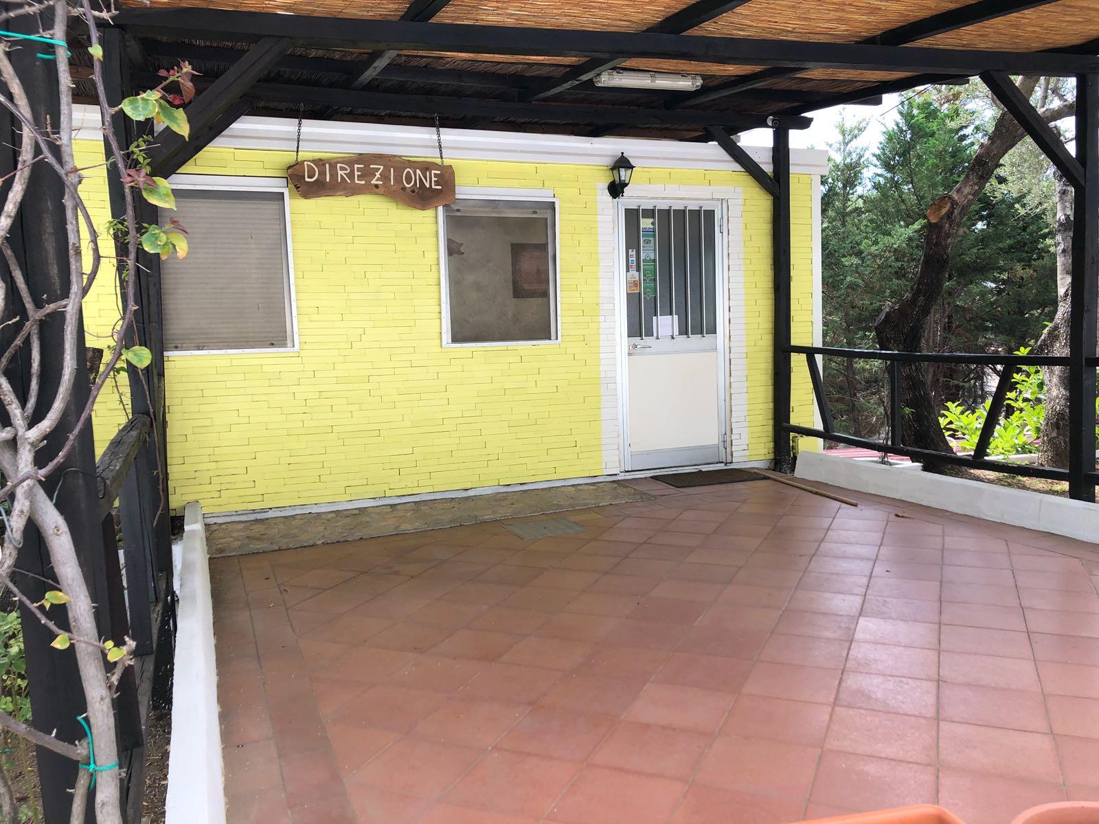 La direzione del residence Punta Cilento