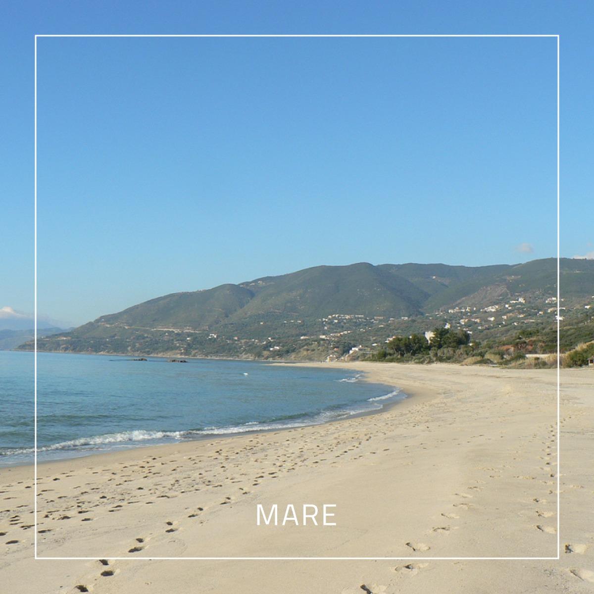 Una spiaggia in prossimità del residence Punta Cilento
